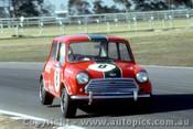 70078 - Brian Foley  - Morris Cooper S - Warwick Farm 1970