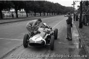 Melbourne Grand Prix 30th November 1958  Albert Park - Photographer Peter D'Abbs - Code AP58-181