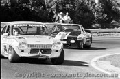 77003 - G. Rogers Ford Escort - F. Gardner Corvair - Sandown 1977