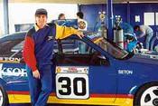 91002 - Glenn Seton - Ford Sierra - Oran Park 1991
