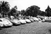 58402 - Porsche Car Park - Albert Park 1958