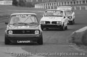 79008 - C. Heyer Volkswagen VW Golf / G. Kay Triumph Dolomite  - Sandown 1979