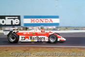 80502 - Bruno Giacomelli Alfa Romeo 179 F1 - Australian Grand Prix Calder 1980