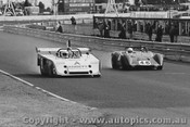 75401 - G. Cooper Elfin MS7 and G. Doidge Elfin 300 - Sandown 1975