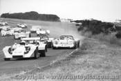 75403 - A. Gissing Gissing Holden - G. Doidge Elfin 300 - Phillip Island 1975