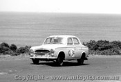 60706 - Russell / Anderson / Luxton - Peugeot 403 - Armstrong 500 Phillip Island 1960
