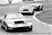 71408 - M. Agliss Milano GT B. Leer Milano GT R. Bond Austin Healey 300 - Oran Park 1971