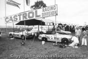 70429 - Castrol Racing Division - Carne MG Midget - Corness MGB - Bond Austin Healey - Oran Park 1970