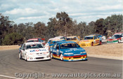 95004  -  G. Seton Leads the Pack  - Oran Park 1995 - Ford Falcon EF