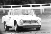 65024 - K Bartlett Alfa Romeo Guilia TI - Warwick Farm 1965 - Photographer Lance Ruting