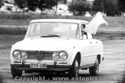 65025 - Clerk Of the Course -  Alfa Romeo Giulia  - Warwick Farm 1965 - Photographer Lance Ruting