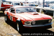 71039 - Allan Moffat Mustang - Lakeside 1971 - Photographer John Heselwood