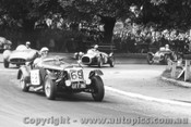 58410 - P. Candy MGTF  69  / J. Goldfinch Austin Healey 100s  61   - Albert Park 1958