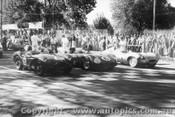 57504 - T. Sulman Aston Martin  8  / D. Whiteford Maserati  6  / B. Pitt Jaguar D Type  1  - Albert Park 1957