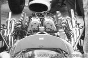 66520 - F. Gardner - Repco Brabham Maserati - Warwick Farm 1966 - Photographer Lance Ruting