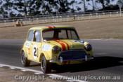 70089 - Peter Manton - Morris Cooper S - Warwick Farm 1970
