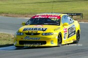 203051 - Nathan Petty, Holden Monaro CV8  - Wakefield Park June 2003 - Photographer Marshall Cass