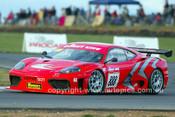 203055 - John Bowe, Ferrari 360 GT  - Wakefield Park June 2003 - Photographer Marshall Cass