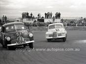 59124 - W. Richardson & John Raeburn Holden FX-  Fishermans Bend - 21st February 1959 - Photographer Peter D'Abbs