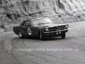 65126 - Norm Beechey, Ford Mustang - Catalina Park Katoomba 1965- Photographer Lance J Ruting