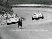 65127 - Who Let The Dogs Out - Frank Demuth & Greg Cusack, Lotus 23B - Catalina Park Katoomba 1965- Photographer Lance J Ruting