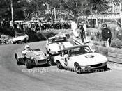 66200 - Fred Gibson & Niel Allen Lotus Elan & Doug Macarthur Lotus Super 7 - Catalina 1966 - Photographer Lance J Ruting