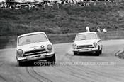 66201 - Max Volkers & Brian Michelmore Lotus Cortina - Catalina 1966 - Photographer Lance J Ruting