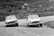 66202 - Max Volkers & Brian Michelmore Lotus Cortina - Catalina 1966 - Photographer Lance J Ruting
