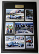 $399.00  20x30 inch Personally Signed by Both Dick Johnson & John French