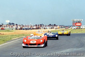 Hyams Elfin Mallala - Marchiori Elva BMW - Robertson Elfin 300 - Larner Lotus 23B  -  Calder 1969