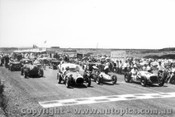 58513 - Phillip Island 1958 - #54 A. Huf MG Special #55 A. Staton BRM 500 #28 B. Sampson Morris Specia #33 N. Lewin Riley Special #101 E. Laker Triumph TR3 #74 S. Kerr MG TDl