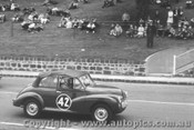 60002 - B. Shepherd - Morris Minor -  Geelong Speed Trials 1960