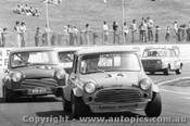 76006 - #34 L. McIntosh  #41 D. Parker Morris Mini s -  Oran Park 1976