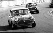 76003 - #40 L. McIntosh  #67 J. Martin - Morris Mini s -  Oran Park 1976