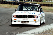 88002 - Peter Brock - BMW M3 - Sandown 1988