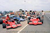 76617 - Smith Lola T330 Bartlett Lola T440 Goss A53 - Oran Park Tasman Series 1976