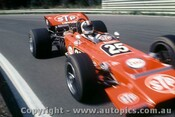 71619 - Chris Amon - STP Lotus 70 Ford Boss Warwick Farm 1971