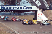 86501 - First Lap F2 Championships Oran Park 1986 - #5 Pringle Cheetah MK8 #71 Crooke Cheetah MK8 #19 Abrahams Ignis Cheetah