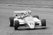 86503 - Jon Crooke Cheetah MK8 - Sandown 1986