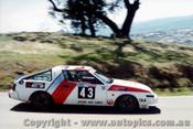 85729 -  Bartlett / Fitzgerald Mitsubishi Starion -  Bathurst 1985