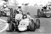 78510 - Juan Manuel Fangio - Mercedes W196 Silver Arrow - Sandown 1978