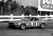 69037 - Allan Moffat, Mustang Tran AM - The Mustangs first race meeting , Sandown 4th May 1969 - Photographer Peter DAbbs