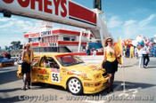 89726 - K. Waldock / B. Thomson  -  Bathurst 1989 - Ford Sierra RS500