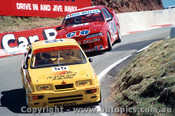 89728 - K. Waldock / B. Thomson  Ford Sierra RS500 Gibbs / Onslon Commodore VL -  Bathurst 1989