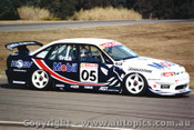 97002 - Peter Brock Holden Commodore - Oran Park 1997