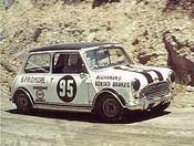 68158 - B. Pridemore Morris Cooper S - Lakeland Hillclimb December 1968