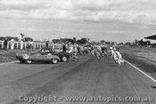 62403 - Le Mans Start - Victorian Sports Car Championship Sandown 1962