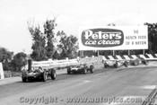 63502 -  Palmer Cooper - Youl Cooper - McKay Brabham  - Hawthorn Aston Martin - Sandown 1963