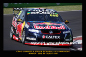 15702-1 - Craig Lowndes - Commodore VF Winner of the  Bathurst 1000 - 2015