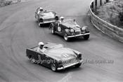 H. Herbert, Austin Healey Sprite, P. West Morgan & Doug Chivas, Austin Healey Sprite - Catalina Park Katoomba - 8th November 1964 - Code 64-C81164- 49